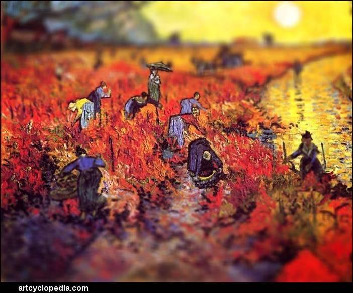 ...знаменитым картинам Ван Гога.  В итоге полотна приобрели новый, очень...