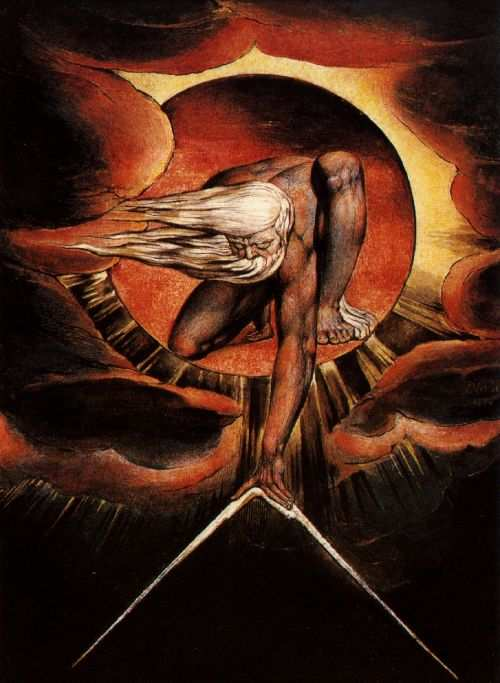 William Blake Image :  art blake ancient