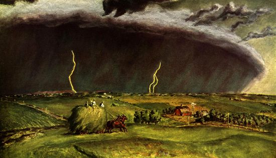 John Steuart Curry: The Line Storm
