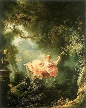 Jean-Honore Fragonard: The Swing