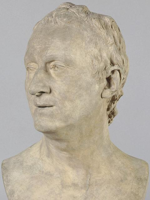 Houdon: Portrait Bust of Denis Diderot