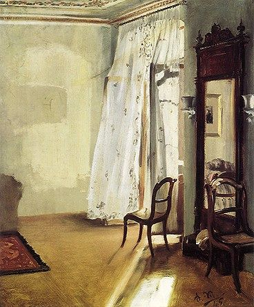 Adolf von Menzel: The French Window