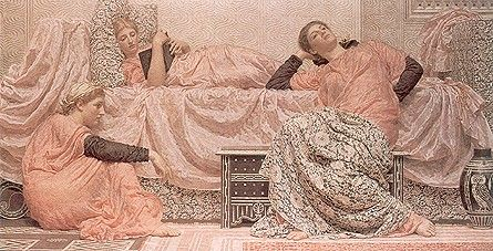 Albert Joseph Moore: Reading Aloud