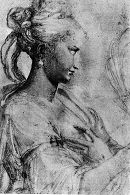 Parmigianino: Study of Saint Catherine