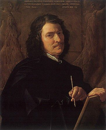 Nicolas Poussin: Self-Portrait at the Age of 55