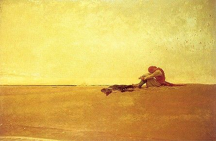 Howard Pyle: Marooned Pirate