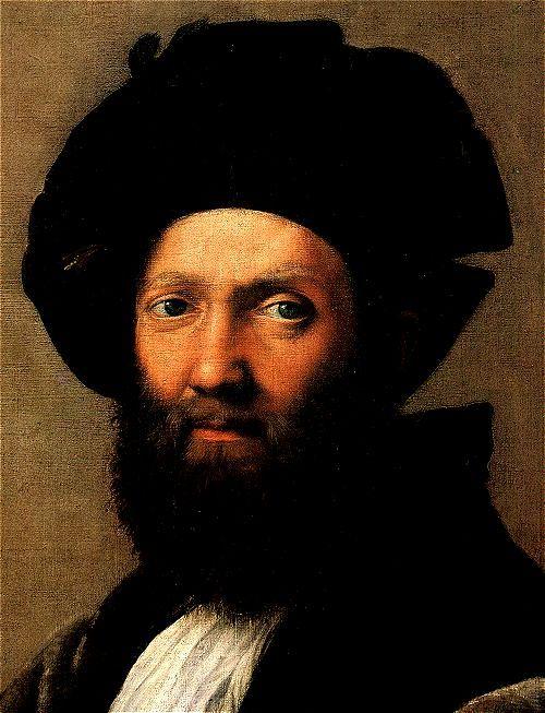 Raphael: Baldassare Castiglione (detail)