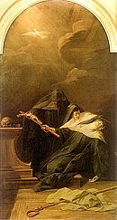 Jean Restout: The Death of Saint Scholastica