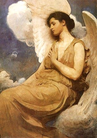 Abbott Handerson Thayer: Winged Figure