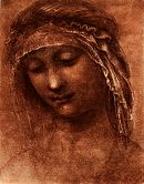 da Vinci: Head of a Woman