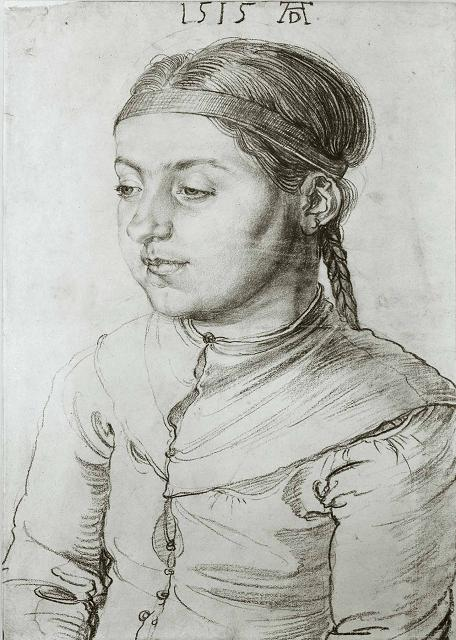 Albrecht Durer: Head of a Girl