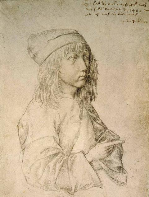 Albrecht Durer: Self-Portrait at the Age of Thirteen