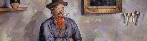 Barnes Foundation: Cezanne, Card Players and Girl (detail)