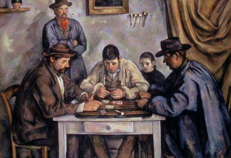Paul Cézanne: Card Players and Girl