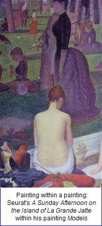 Barnes Foundation: Seurat: Models (detail)