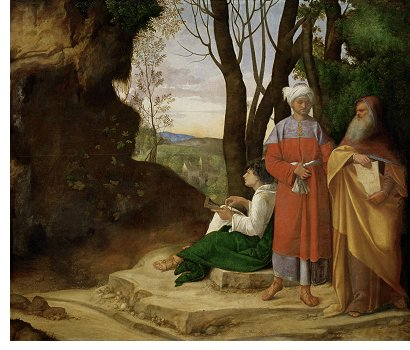 Giorgione: Three Philosophers