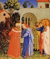 Fra Angelico: The Apostle Saint James the Great Freeing the Magician Hermogenes