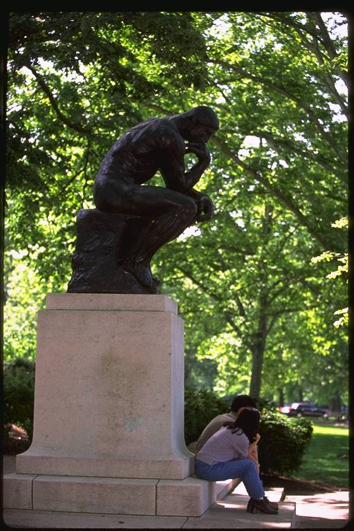 Auguste Rodin: The Thinker