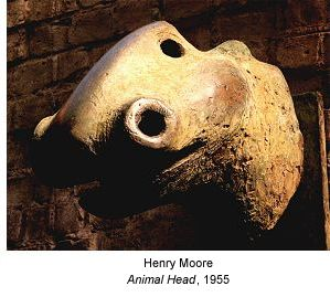 Henry Moore: Animal Head (1955)