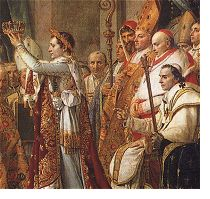 The Consecration of the Emperor Napoleon and the Coronation of Empress Josephine (detail)