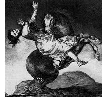 The Horse as Abductor, from Los Disparates
