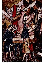 Mass Burial of Plague Victims in Belgium, 1349 (detail)