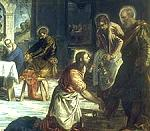Tintoretto: Christ Washing the Disciples' Feet
